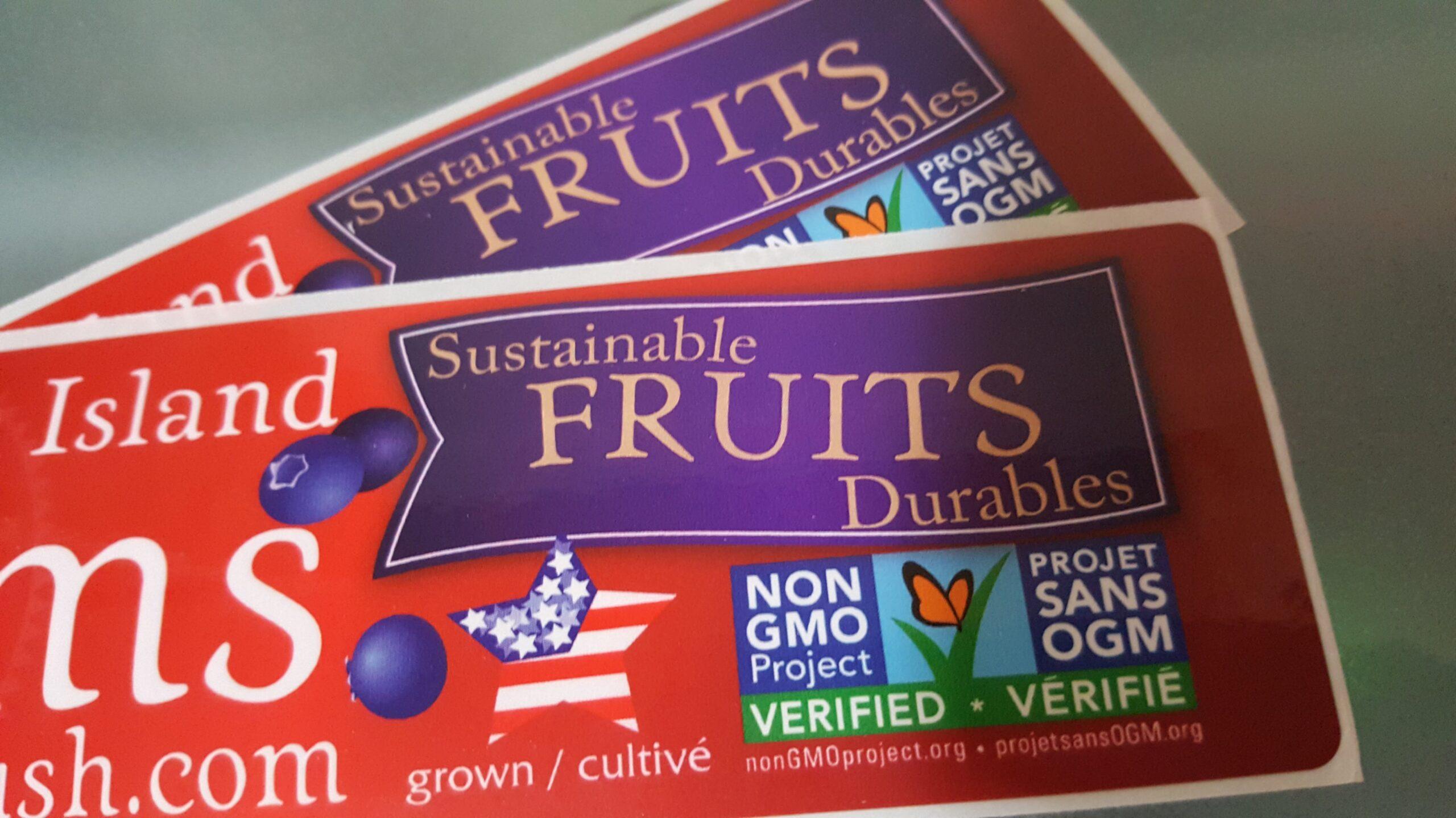 Frozen Fruit Labels