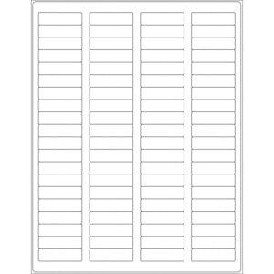 "1.75"" x 0.75"" (80up) DIY FREEZER-Grade/Durable Sheet Labels, LR-1705-080"