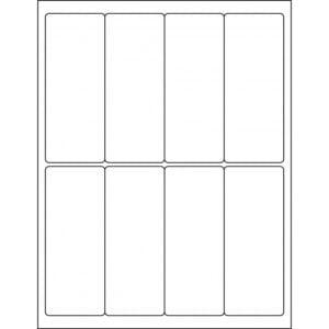 "2.0"" x 5.00"" (8up) DIY FREEZER-Grade/Durable Sheet Labels, LR-2050-008"