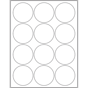0.5'' x 0.3125'' rectangle (100 per sheet), LS-0503-100
